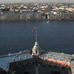 Вид со ганшпуг Петропавловской крепости